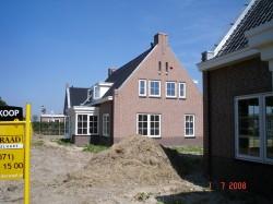 raadbouw bv huis zijkant voltooid