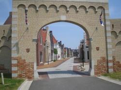 Geveke Bouw Heerenveen poort