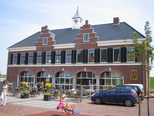 Geveke Bouw Heerenveen restaurant voorkant