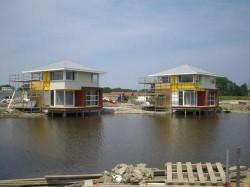 Geveke Bouw Heerenveen twee huizen