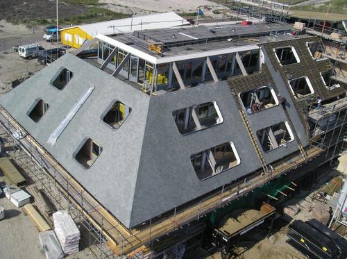 Heijmans Bouw Groningen van bovenaf
