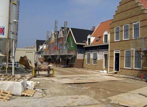Geveke Bouw Heerenveen rij huizen