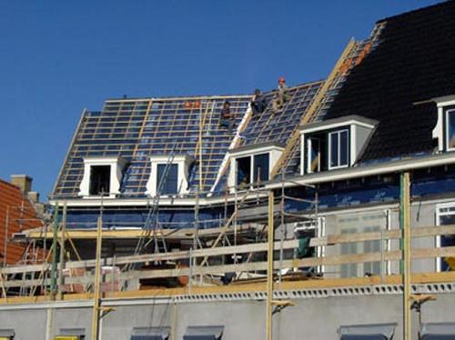 Geveke Bouw Heerenveen verbouwing aan het dak