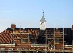 Geveke Bouw Heerenveen verbouwing aan de toren